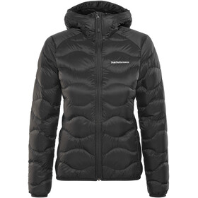 Peak Performance Helium Down Hood Jas Dames zwart